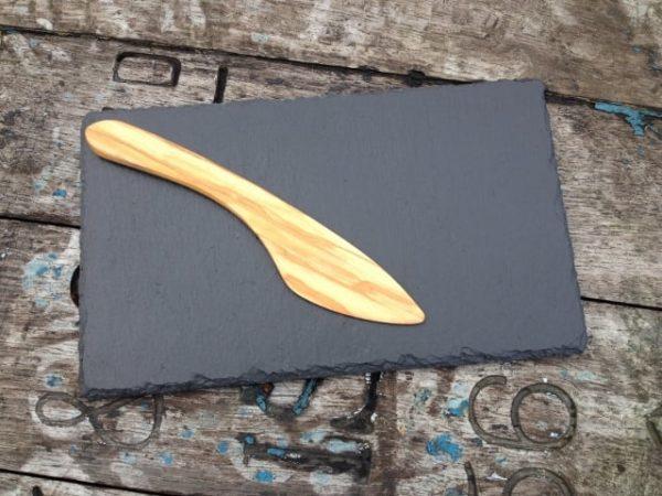 Olive Wood Brie Knife