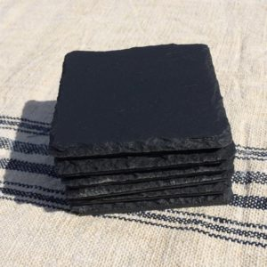 Handcut Slate Coaters Square