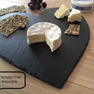 Large Heart Slate cheeseboard