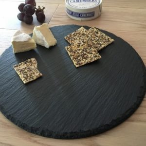 Round Slate Cheeseboard