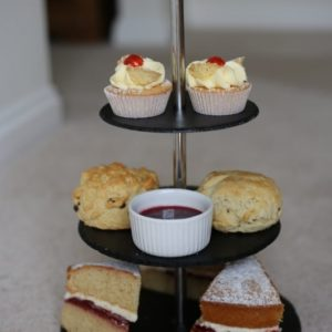 Handcut Slate Cake stands Stag or Pheasant Design