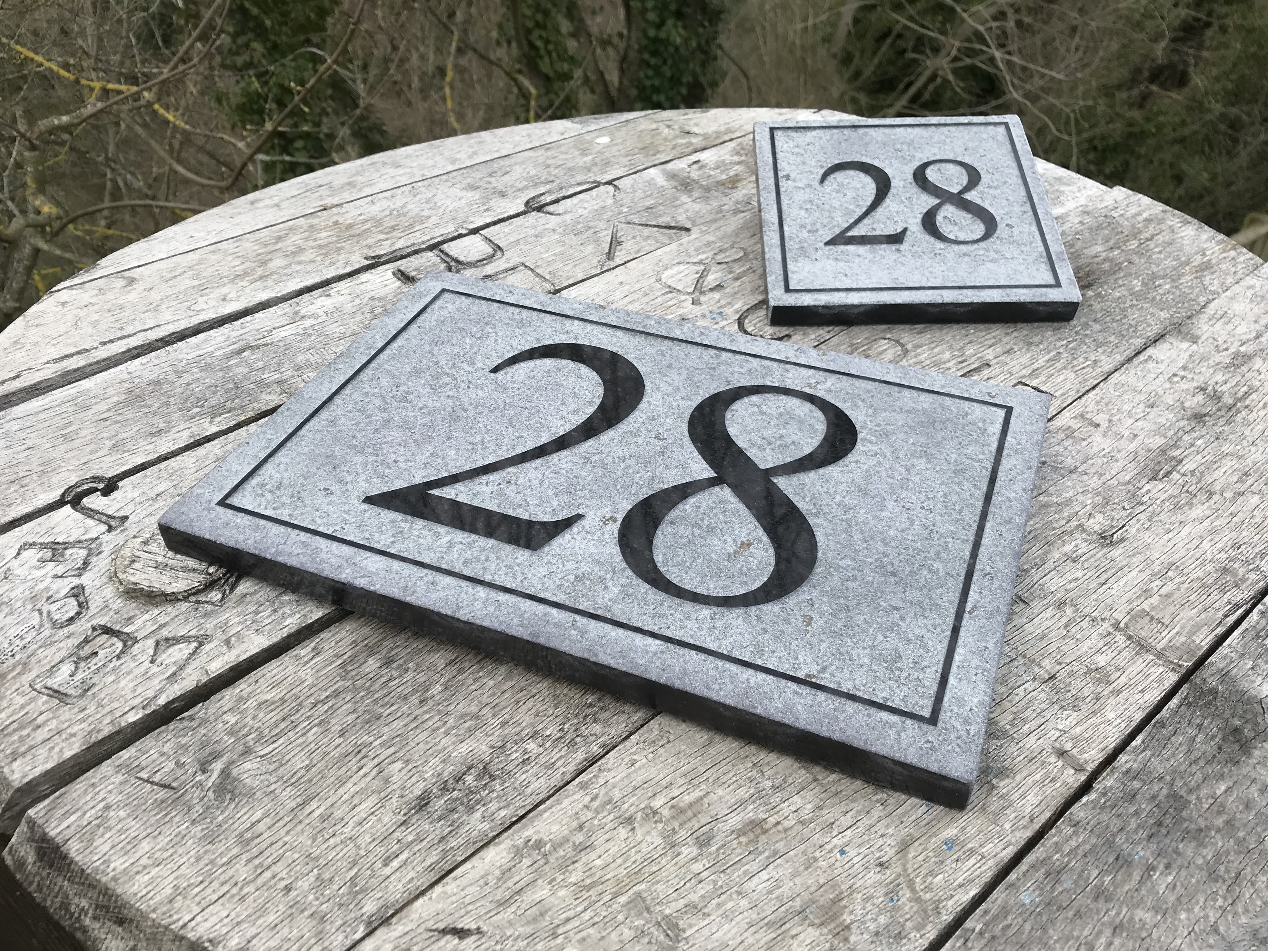 592bc0e164a2 Relief Engraved Granite House Signs - Scottish Slate Gift ~ Scottish ...